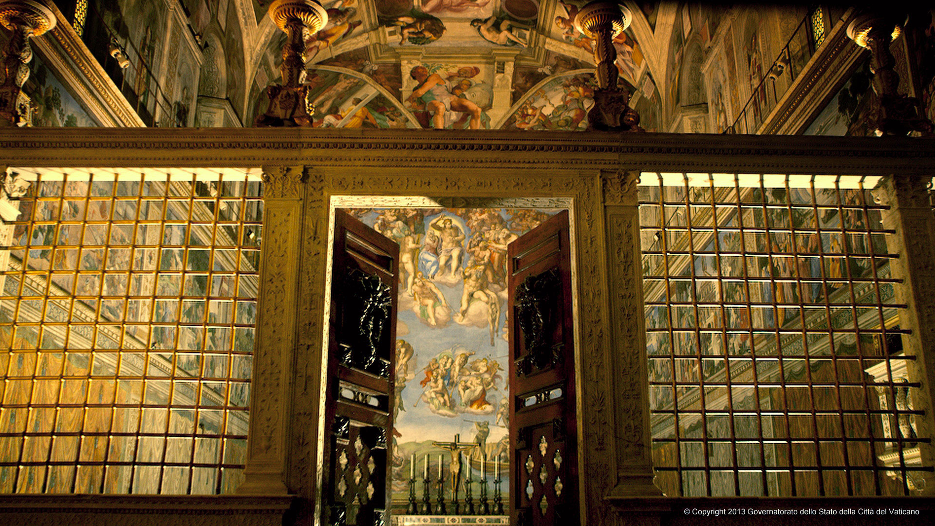 Sistine-Chapel_entrance_door